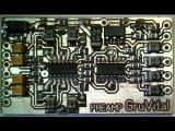 Предусилитель на TL074 для штатной автомагнитолы с REMOTE контролем