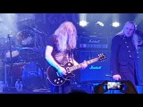 SAXON with Fast Eddie Clark playing the Ace of Spades - Mancester Ritz 2-11-16