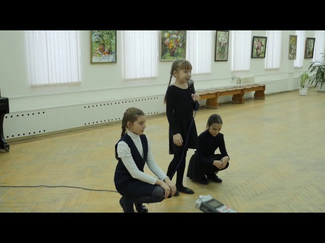 Новелла Матвеева. ГАЛЧОНОК - Арина Королёва, Александра Борисова, Александра Шев...