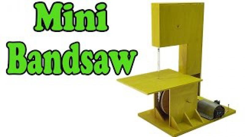 How to make a mini bandsaw