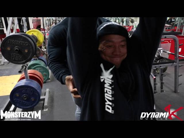 Kai Greene Trains with Kyung Won Kang