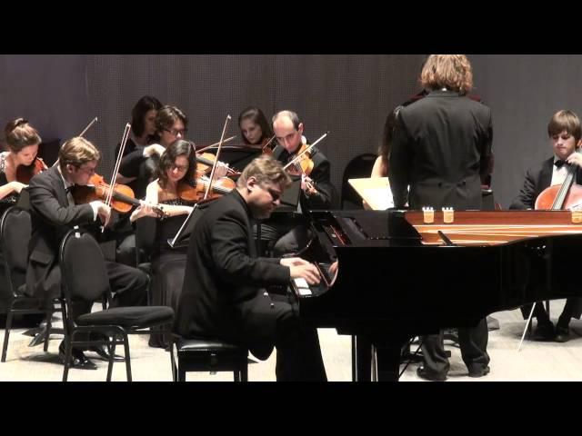 Петр Лаул И.С.Бах Клавирный концерт № 1 ре-минор BWV 1052
