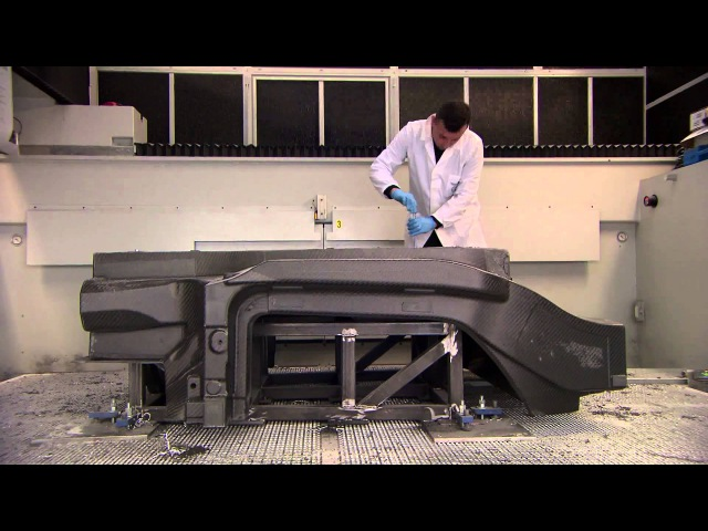 Alfa Romeo 4C Technology Architecture - Carbon Chassis