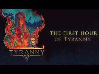 Obsidian plays the first hour of Tyranny