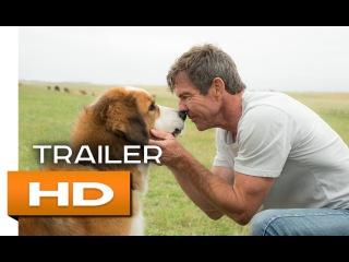 Собачья жизнь Официальный Трейлер 2017 Деннис Куэйд