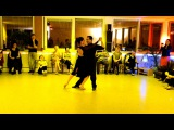 Chacarera: Miriam Copello y Cristian Correa, 26/03/2016, Milonga Tango Factory #4/4