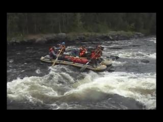 Краткий фильм о сплаве по реке Охта в Карелии 2010г.