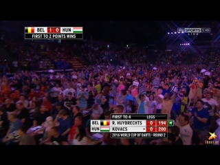 Belgium vs Hungary (PDC World Cup of Darts 2016 / Second Round)