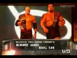 Wrestling Online: 01. Dolph Ziggler World Tag Team (Spirit Squad) Vs. Kane and Big Show 03.04.06
