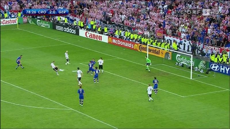 Хорватия - Германия (Евро-2008) Обзор матча