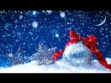 Снег, Новогодние футажи HD. Snow Christmas Video