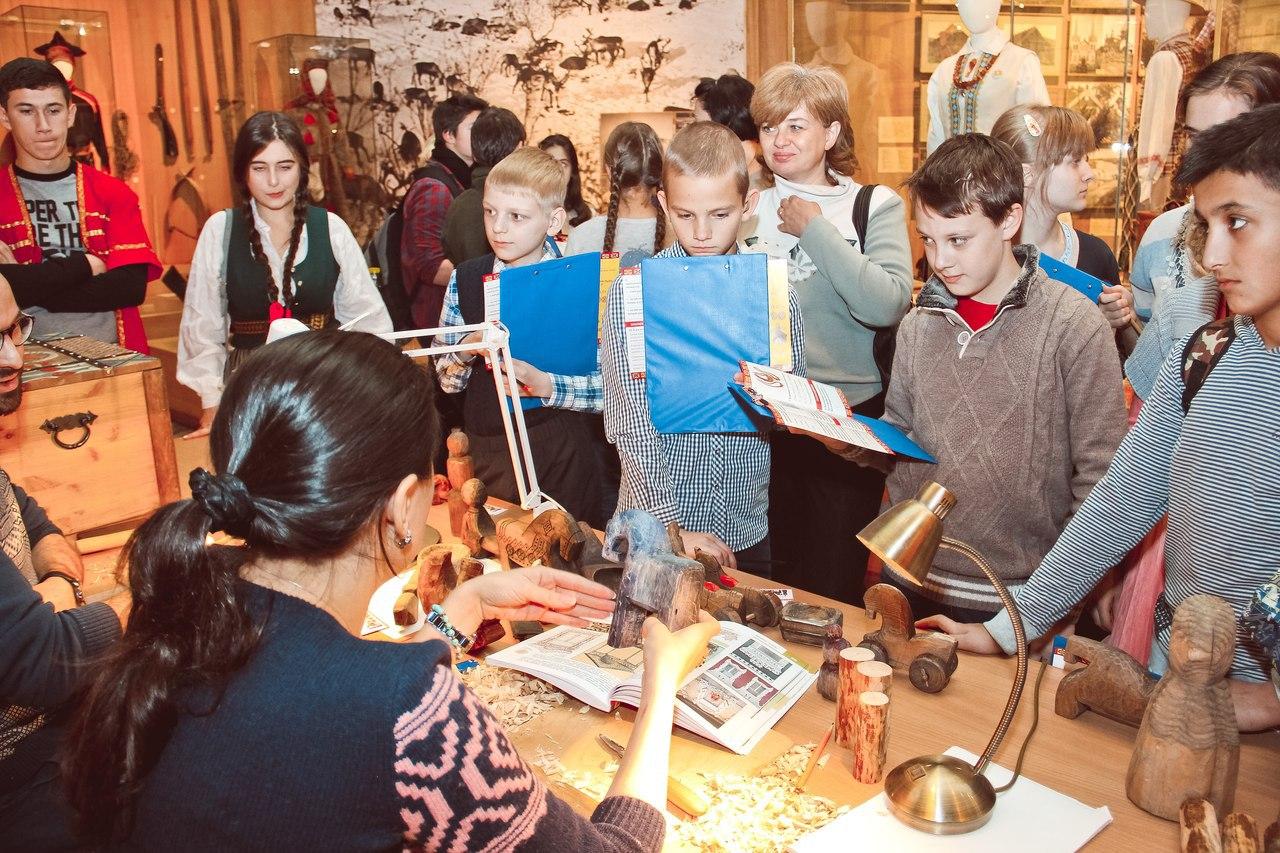 Дети и школьники смогут подойти ближе к культуре и традициям народов России