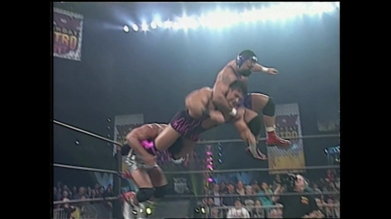 Steiner Brothers vs High Voltage, WCW Monday Nitro 10.02.1997