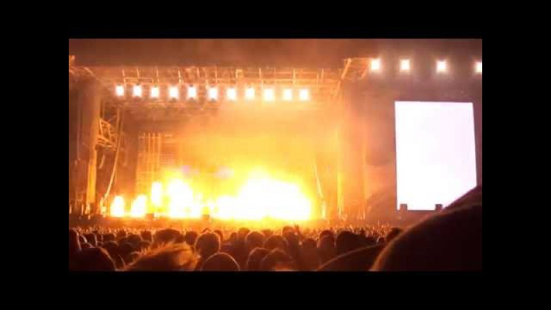 Rammstein Stripped Depeche Mode cover LIVE FEQ Quebec City 2016 07 17
