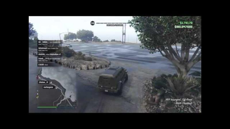 GTA5 Online Freemode War SKYO vs P996 RAGE QUIT