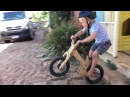3 year old balance bike video kids early rider lite alley runner BMX strider