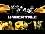 Undertale - Once Upon A Time(w Music Box Kikkerland,Ocarina,12 string guitar,E. Cello, Kalimba)