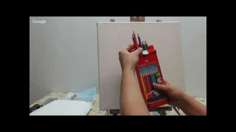 Уроки живописи: Рисовать легко! День 11. Светлана Шенк