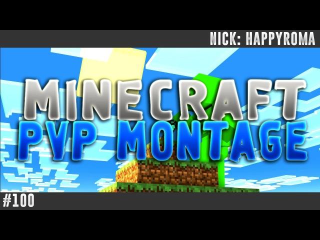 100 | MineCraft | BadLion.NET / Voltix.NET | PvP Montage