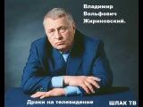 Драки на телевидении. Владимир Жириновский