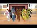 Танец аниматроников