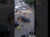 Беспредельщика на Lexus Взяли на Таран