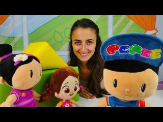 Pepee Niloya ve Şila'ya küsüyor. Eğitici video çocuklar için. Çocuk oyunları