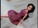 Одежда для кукол Барби Как сшить платье Clothes for Barbie doll How to make summer dress
