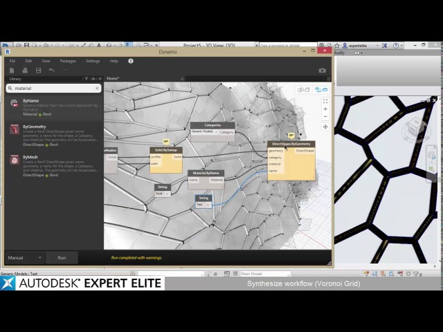 Revit Synthesize Workflow Exercise 1 - Voronoi Grid