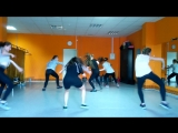 Dancehall choreo by Janna group2