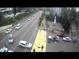 Ужасная авария с мотоциклистом в центре Сочи | 2016