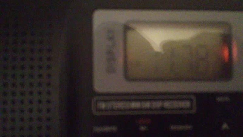 11790 kHz-NHK WORLD RADIO JAPAN(Ibaragi-Koga-Yamata)~7503km