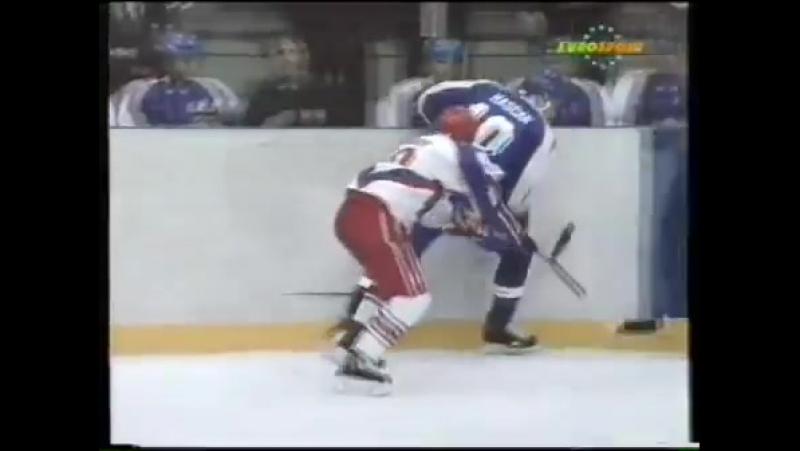 Олимпийские игры в Лиллехаммере 1994. Четвертьфинал. Россия - Словакия 3-2 ОТ