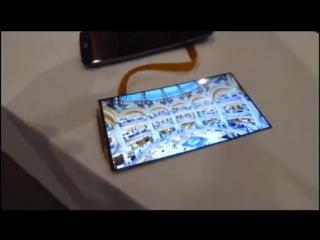 Самый тонкий гибкий экран в мире