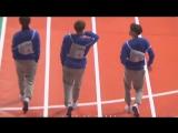 BTS Taehyung, Jin and J-Hope runway walk like models @ 2016 ISAC