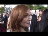 Golden Globes 2017 Isabelle Huppert Exclusive Red Cartpet Interview | Изабель Юппер