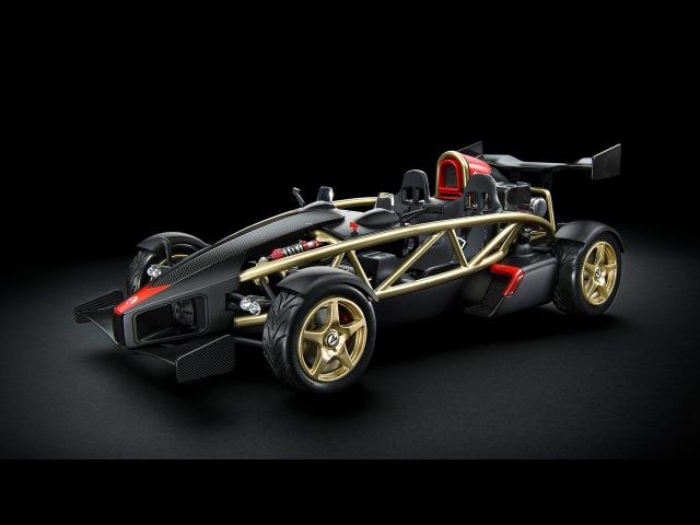 Ariel Atom V8 получил первую модельку на стол