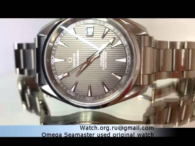Omega seamaster coaxial chronometer
