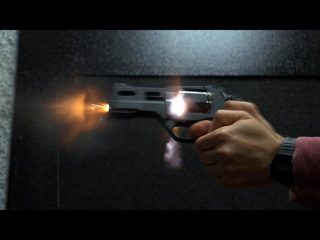 Firing the Rhino Revolver - Chiappa Firearms - .38 Special