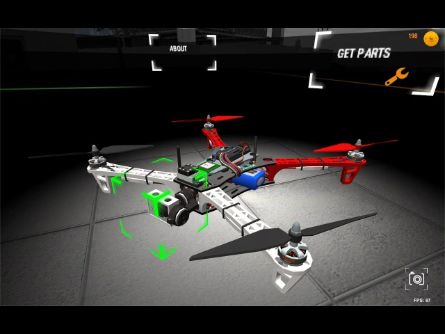 Multirotor Sim: Mobile Gameplay
