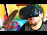 SWIMMING IN POOP | Pipejob (HTC Vive Virtual Reality)