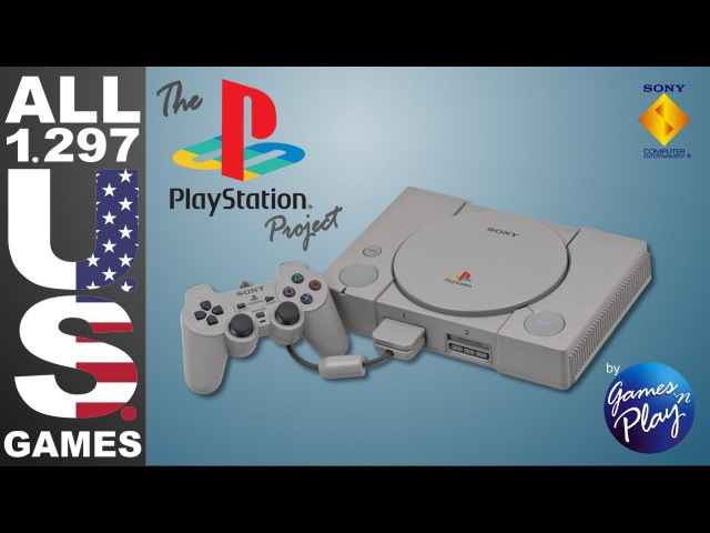 The PlayStation Project - All 1297 US PSXPS1PSOne Games - Every NTSC-U Game