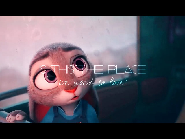 Somewhere Only We Know | Judy x Nick Zootopia AMV