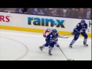 Mikhail Grabovski Takes Clarksons Skate to the Face - Capitals vs Leafs - Nov 23rd 2013 HD
