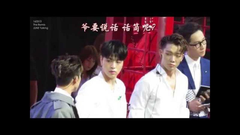 [FanCam]160513 The Remix-iKON JUNE Interview