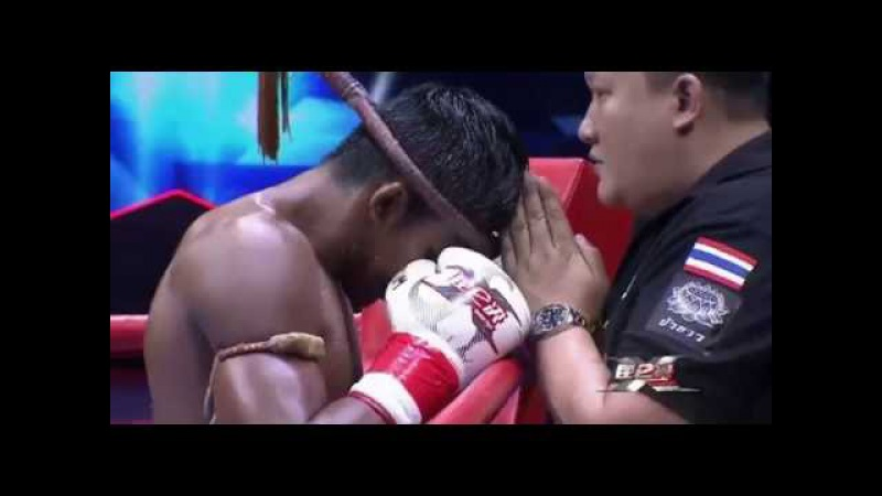 Буакав Банчамек vs Ванг Вейхао - Kunlun Fight 45
