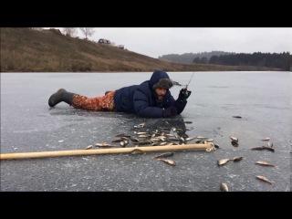 Рыбалка в Перми. Первый лёд. 29 октября 2016