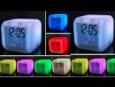 Xaricdən mallar bağlama № 175 LED Işıqlı Saat Budilnik Aliexpress com
