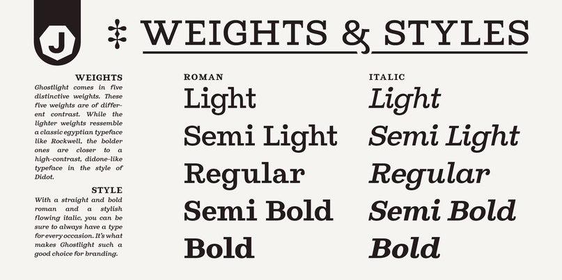 ghostlight шрифт скачать бесплатно