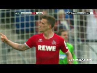 Хоффенхайм - Кельн 1:1. Обзор матча. Германия. Бундеслига 2015/16. 28 тур.